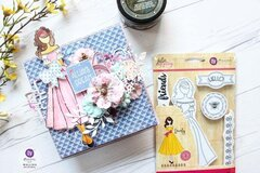 Julie Nutting Frayed Denim Collection + Melissa Doll Card by Mallika Kejriwal