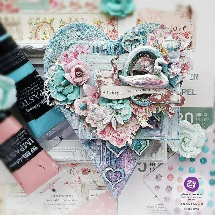 With Love Heart by Anastasija Cernova