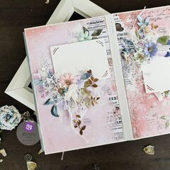 Watercolor Floral Collection Album by Ksenia Vesnina