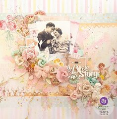 Magic Love Collection Layout by Tanya Cloete