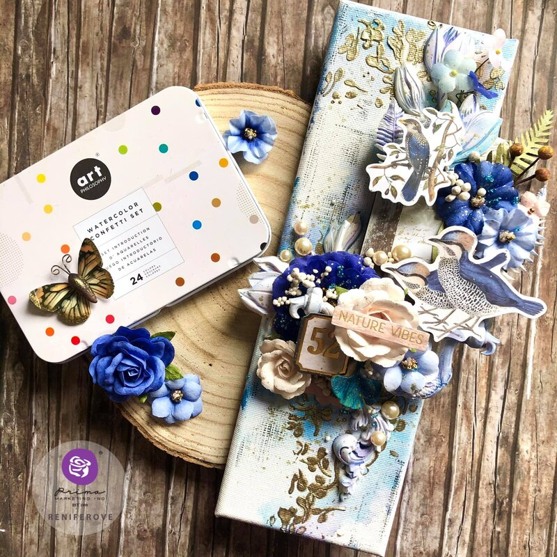 Nature Lover Collection Canvas by Reniferove