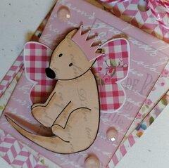 Julie Nutting Frayed Denim Collection + Nia's Dog Luna by Julie Nutting