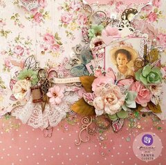 My Sweet Collection Layout by Tanya Cloete