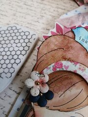 Julie Nutting Frayed Denim Collection + Miss Bea Doll Tags by Julie Nutting