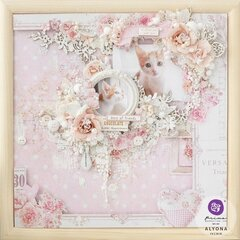 With Love Collection Layout by Alyona Ivchik