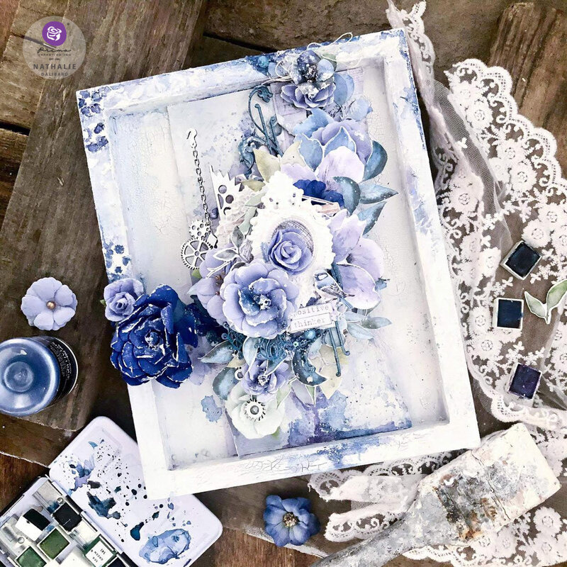 Watercolor Floral Collection Canvas by Nathalie Dalibard