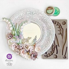 Re-Design with Prima Shabby Mirror by Toni Tickner
