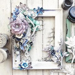 Watercolor Floral Collection Frame by Stacey Young