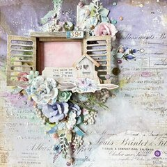 Watercolor Floral Collection Layout by Mallika Kejriwal