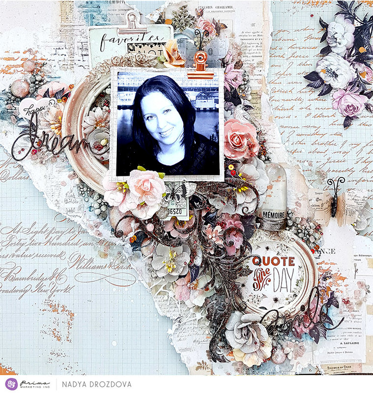 Quote The Day Layout by Nadya