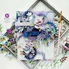 Watercolor Floral Collection Canvas by Anastasija Cernova