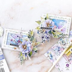 Watercolor Floral Collection ATC Cards by Jaya Raghuvanshi