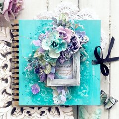 Watercolor Floral Collection Journal Cover by Stacey Young
