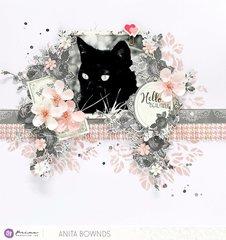 Hello, Beautiful layout by Anita