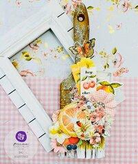Fruit Paradise Altered Brush by DG Martinez