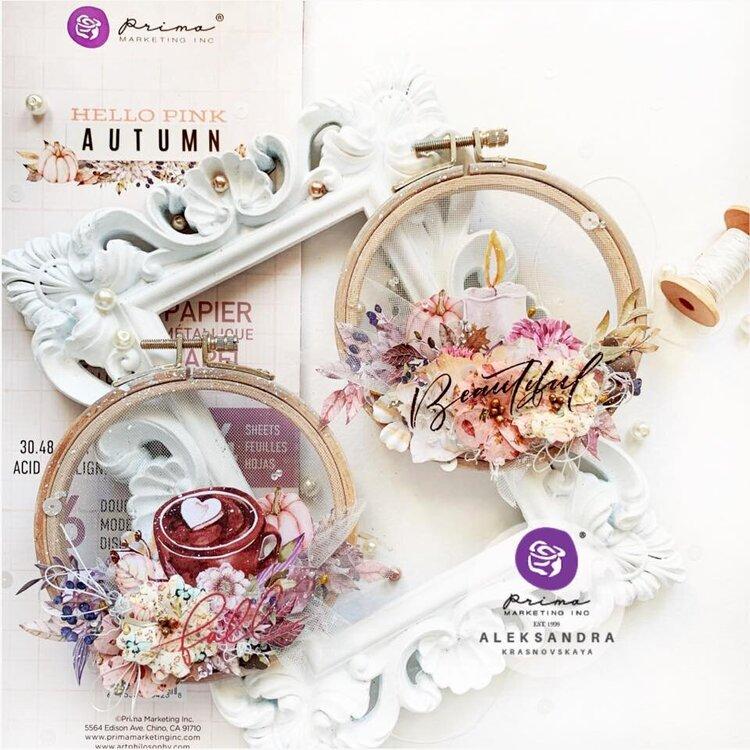 Hello Pink Autumn Inspiration by Aleksandra Krasnovskaya
