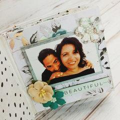 Michelle's Mini Album with Zella Teal