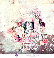 Moon Child Layout by Nathalie