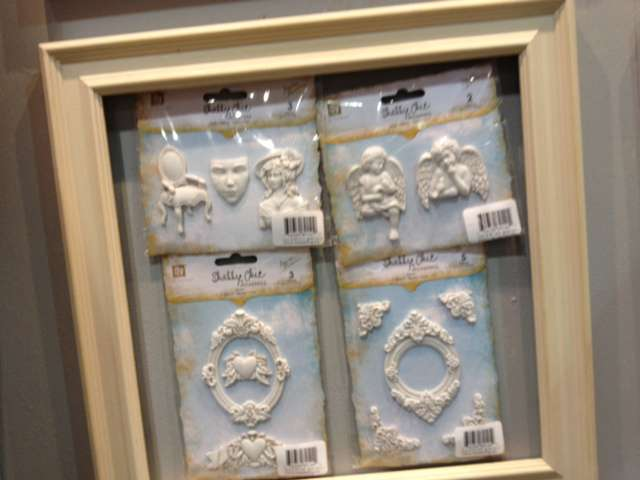 Brand New Prima Resin and Metal Embellishments