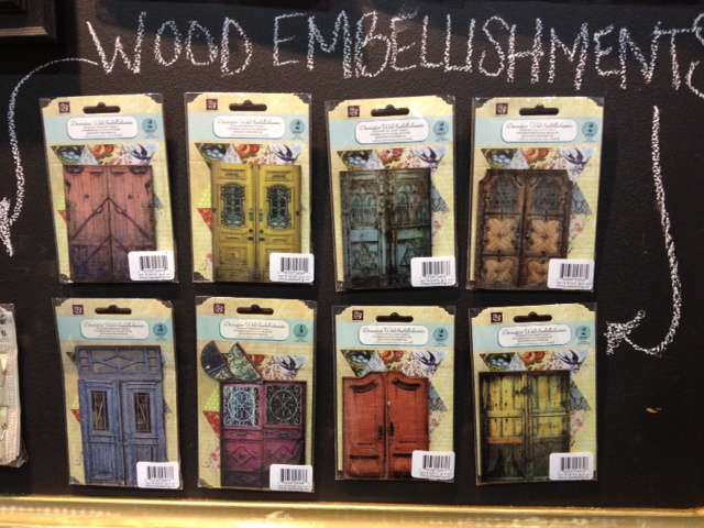 Brand New Prima Wood Embellishments and Washi Tape