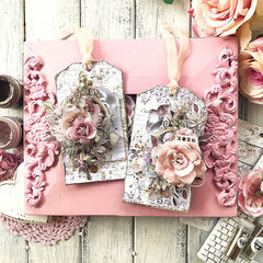 Sweet Floral Tags by Stacey Young