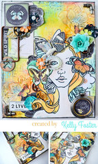 Bloom Girl Canvas