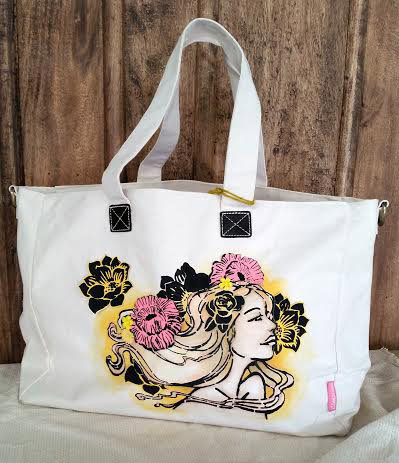 Canvas Bloom Tote!