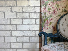 Cobblestone Wall Effect with Prima's Iron Orchid Designs