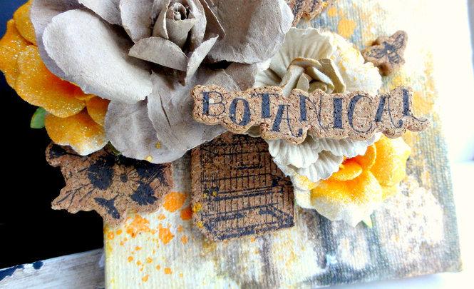 Cork Sticker Canvas