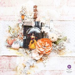 Pumpkin and Spice Collection Layout by Mallika Kejriwal
