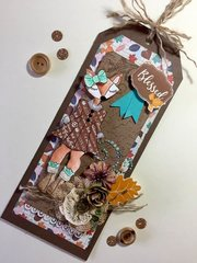 Foxy Tag by Julie Nutting for Prima