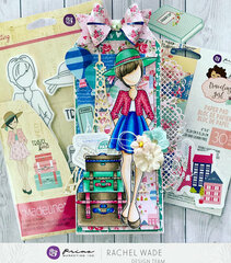 Madeline Doll Tag by Rachel Wade
