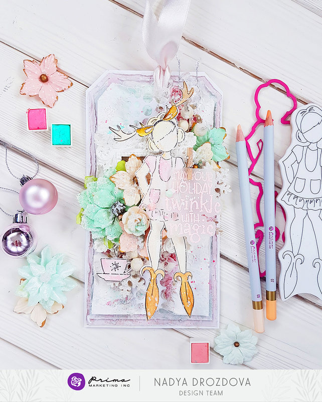 Twinkle Tag by Nadya for Prima