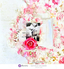 Misty Rose Layout by Nathalie