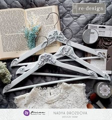 [re]design with prima altered hangers by Nadya