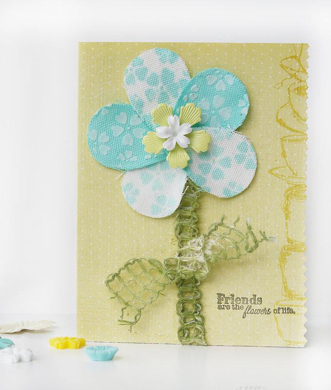 Pinwheel Stencil Card