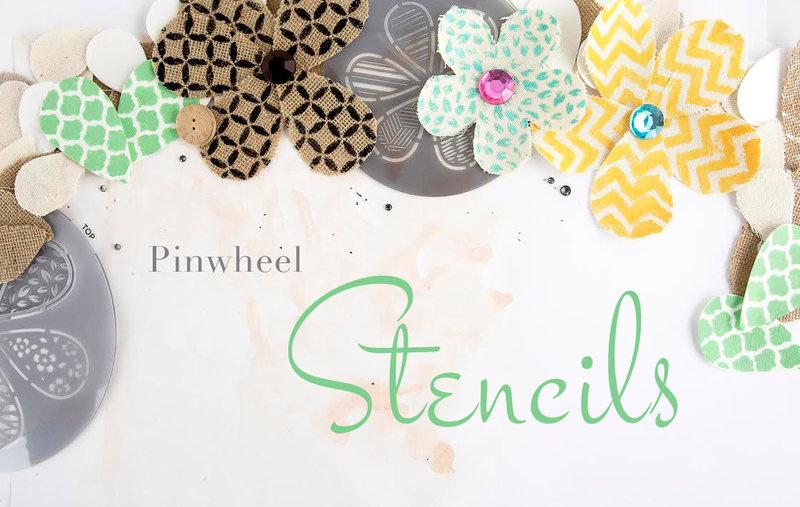 Prima's Pinwheel Stencils