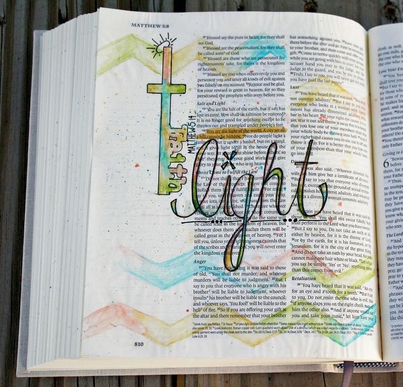 Prima Creating in Faith Journaling Bible