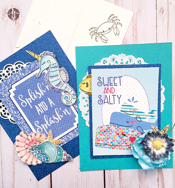 Summer in the Sea Cards