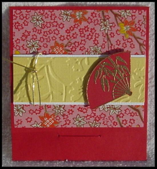 Pocket Card / Gift card holder (front/closed)