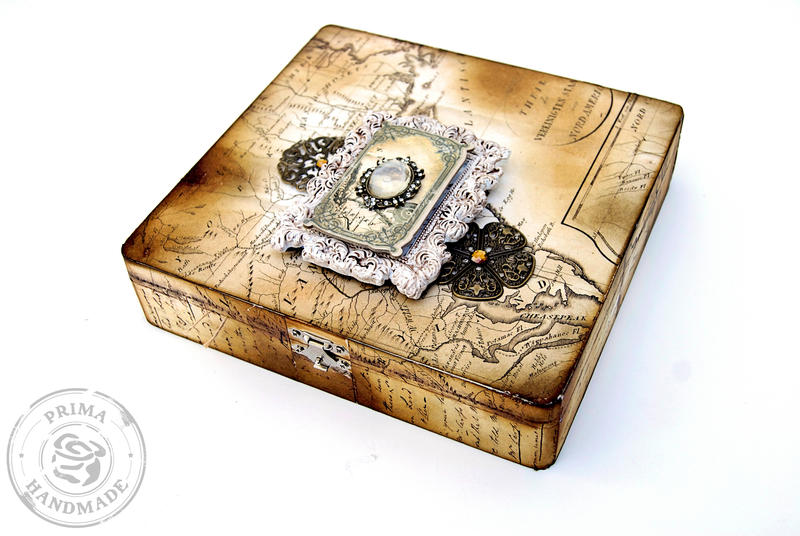 Engraver Treasure Box **Prima CHA 2013**