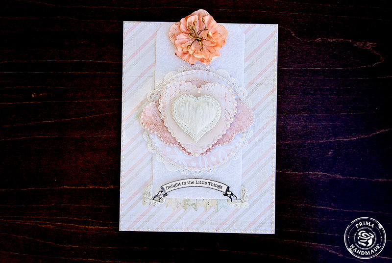 Shabby Chic Card 2 **Prima**