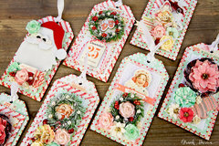 Peppermint & Co. 2016 Christmas Tag Set