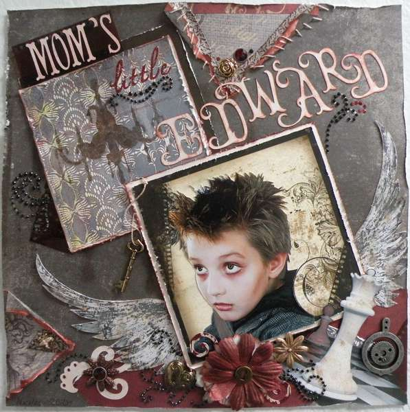 Mom's little Edward