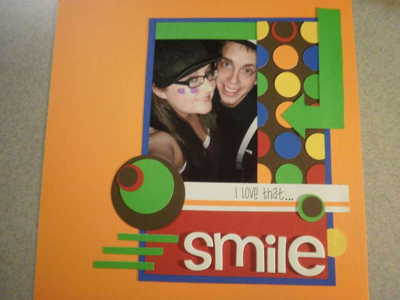 I love that... SMILE!