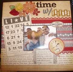 Time w/ Friends