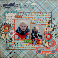 #1 Chamption *Paper Lovelies March kit*