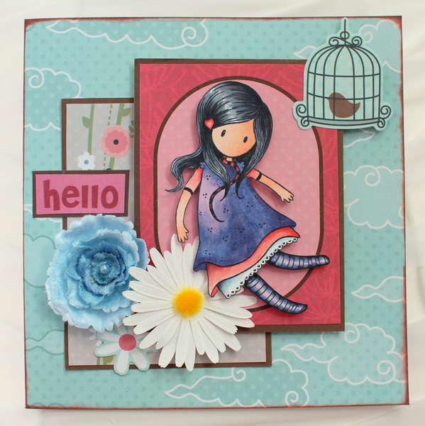 Hello Card *My Little Sheobox*