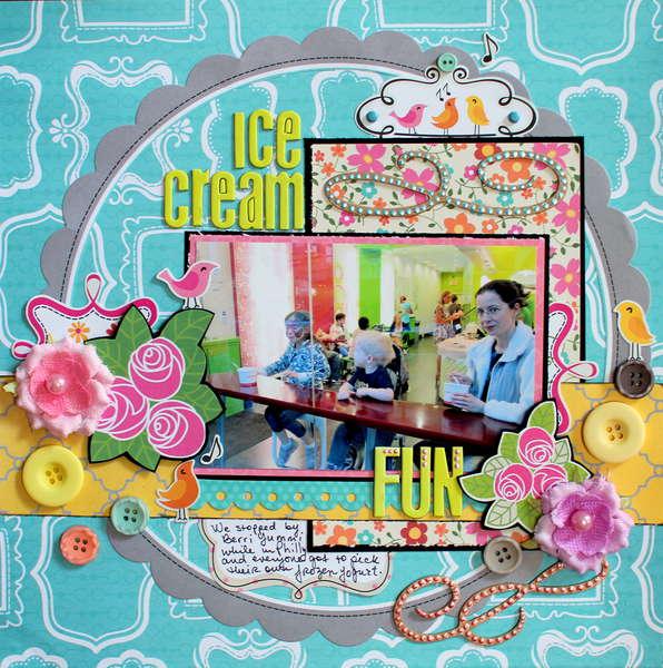 Ice Cream Fun *My Little Shoebox*