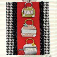 Live Laugh Love Card *Imagisnice*